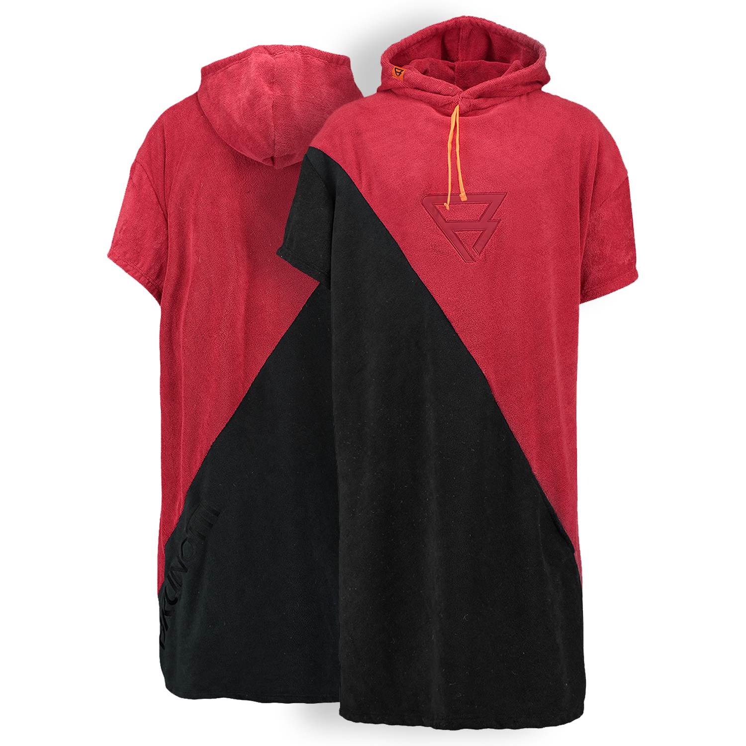 PONCHO BLACK/RED BRUNOTTI 2017