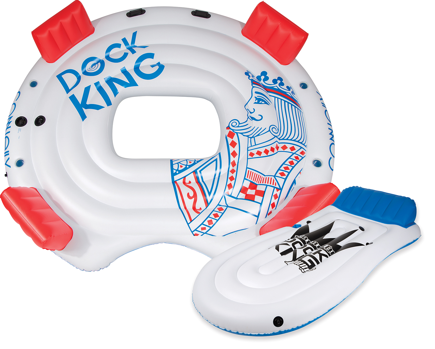 DOCK KING PACKAGE (W/LOUNGE) LOUNGE TUBE CONNELLY 2017