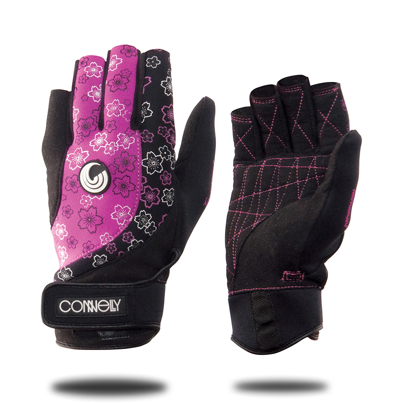 WOMENS TOUR GLOVE - PURPLE CONNELLY 2017
