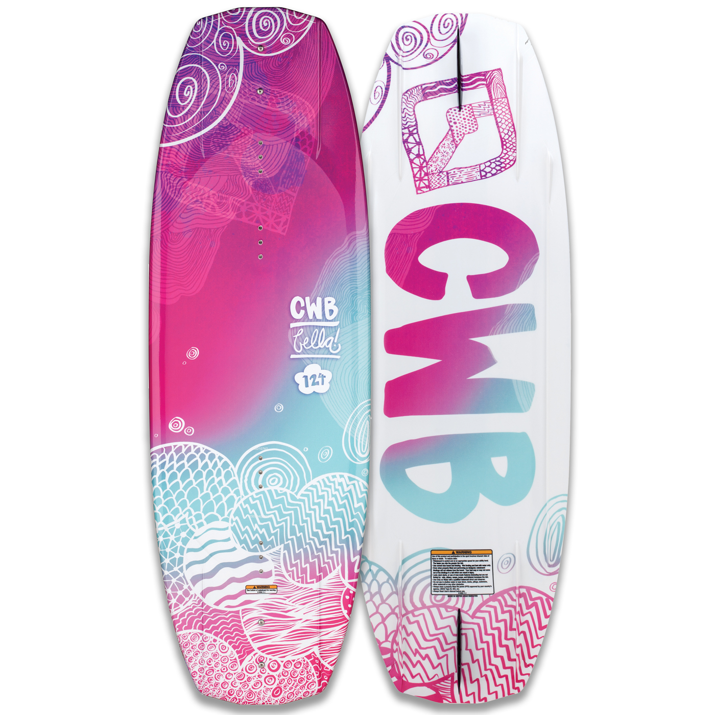 BELLA 124 JR. WAKEBOARD CWB 2017