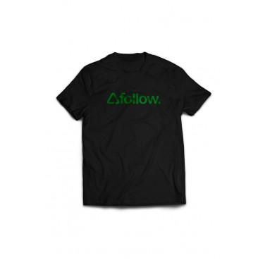 CORP TEE - BLACK FOLLOW 2018