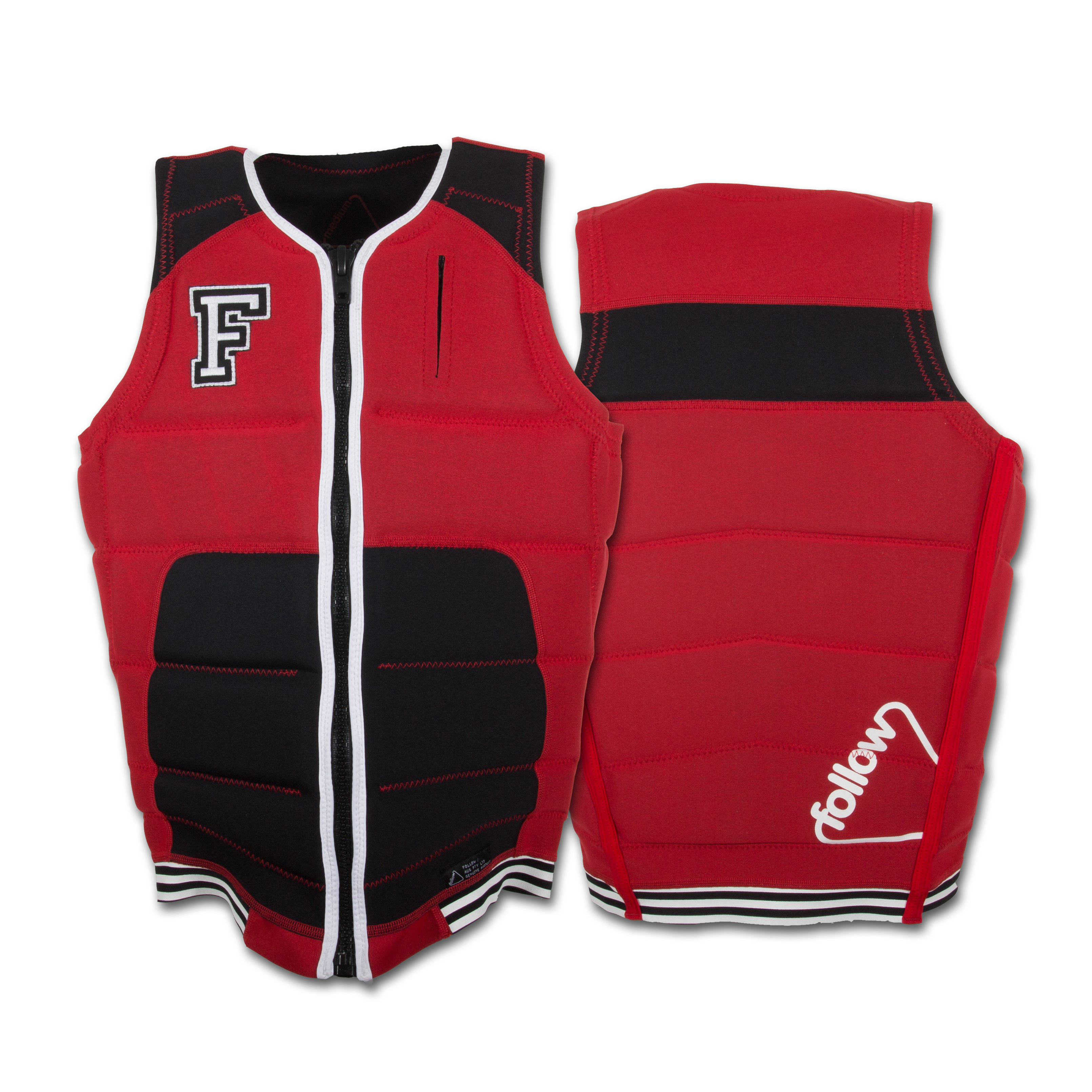 SPORTSTER IMPACT VEST RED FOLLOW 2016