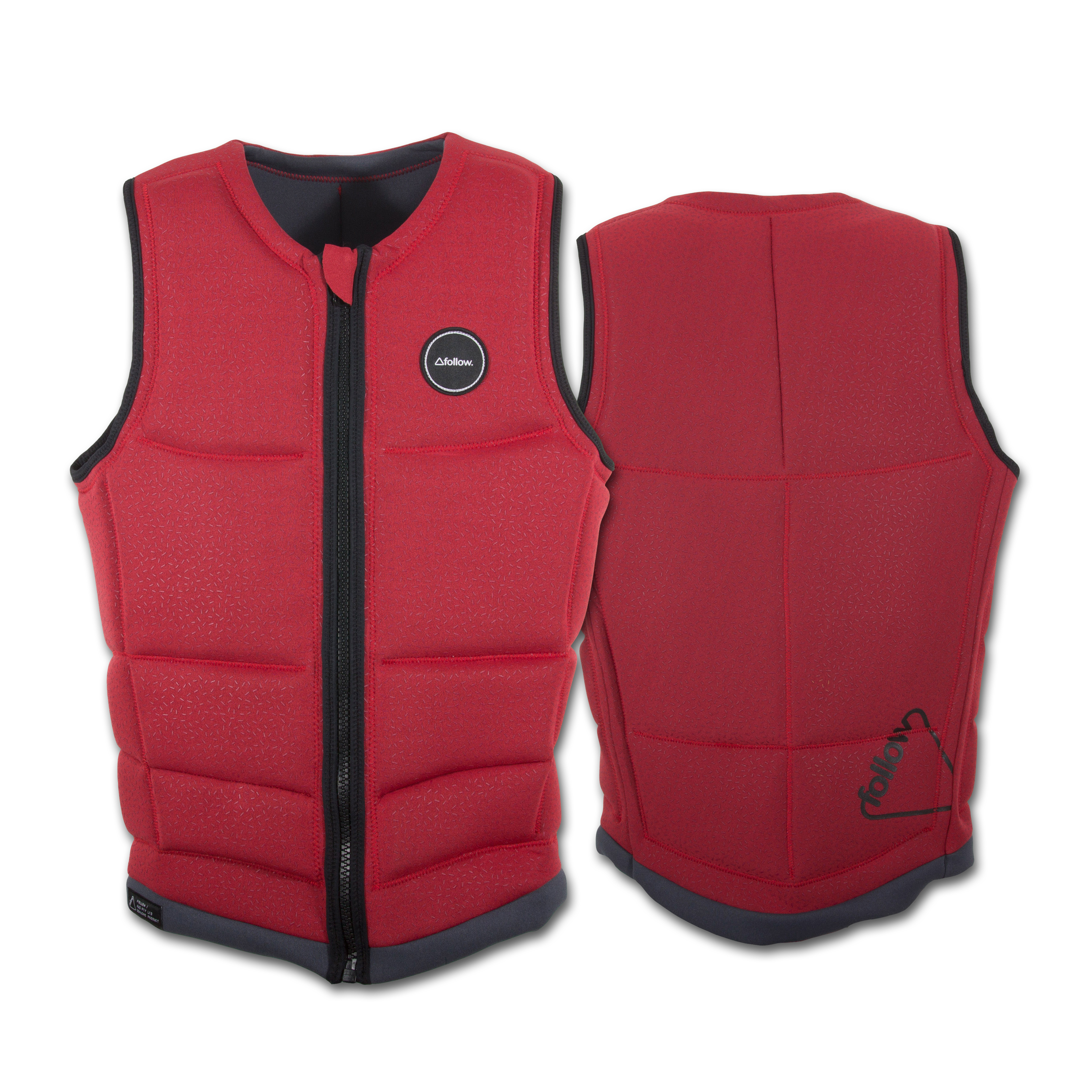 TOKEN REVERSIBLE IMPACT VEST RED FOLLOW 2016