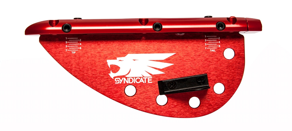 HIGH END ADJUSTABLE FIN COMPLETE - RED HO SPORTS 2017