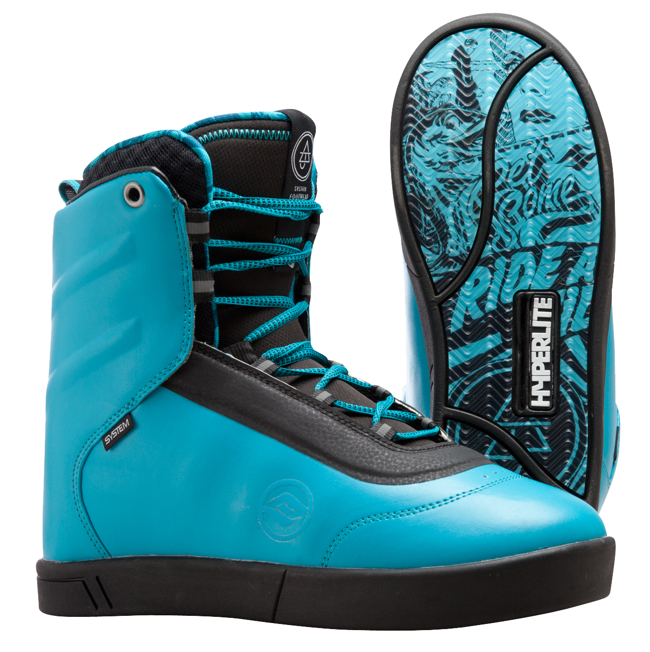 AJ SYSTEM BOOT - BLUE HYPERLITE 2016