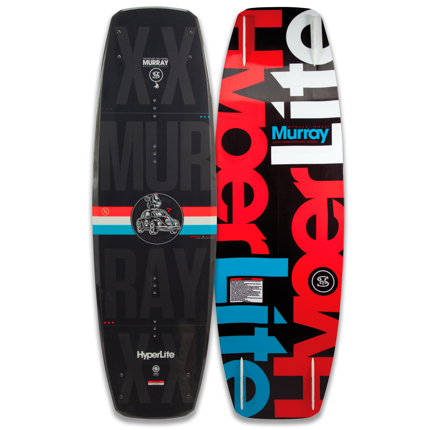 PLACA WAKEBOARD MURRAY 134 WAKEBOARD HYPERLITE 2016