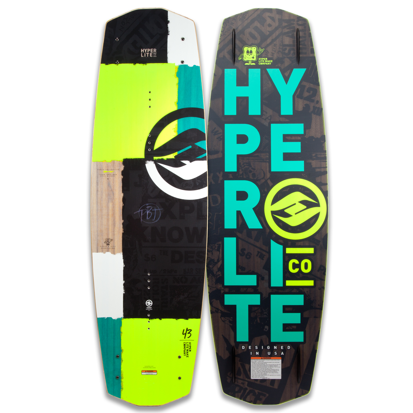 PBJ 128 JR. WAKEBOARD HYPERLITE 2017