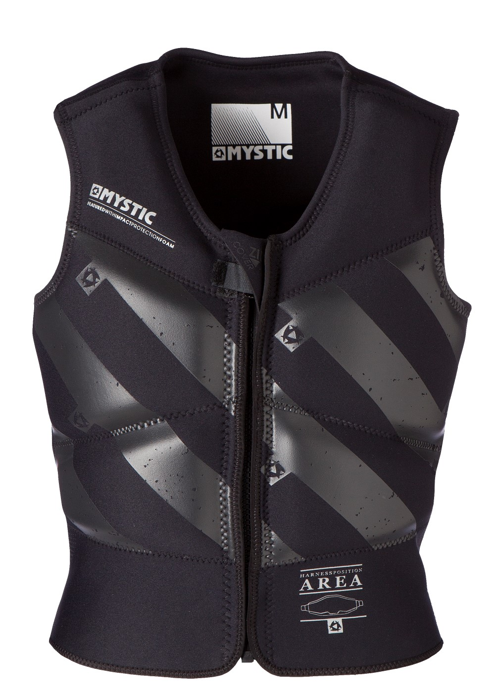 BLOCK VEST - BLACK - MEDIUM MYSTIC 2016