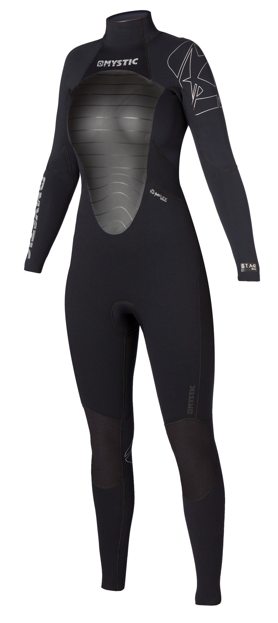 STAR 5/4 D/L FULLSUIT WOMEN - BLACK MYSTIC 2016