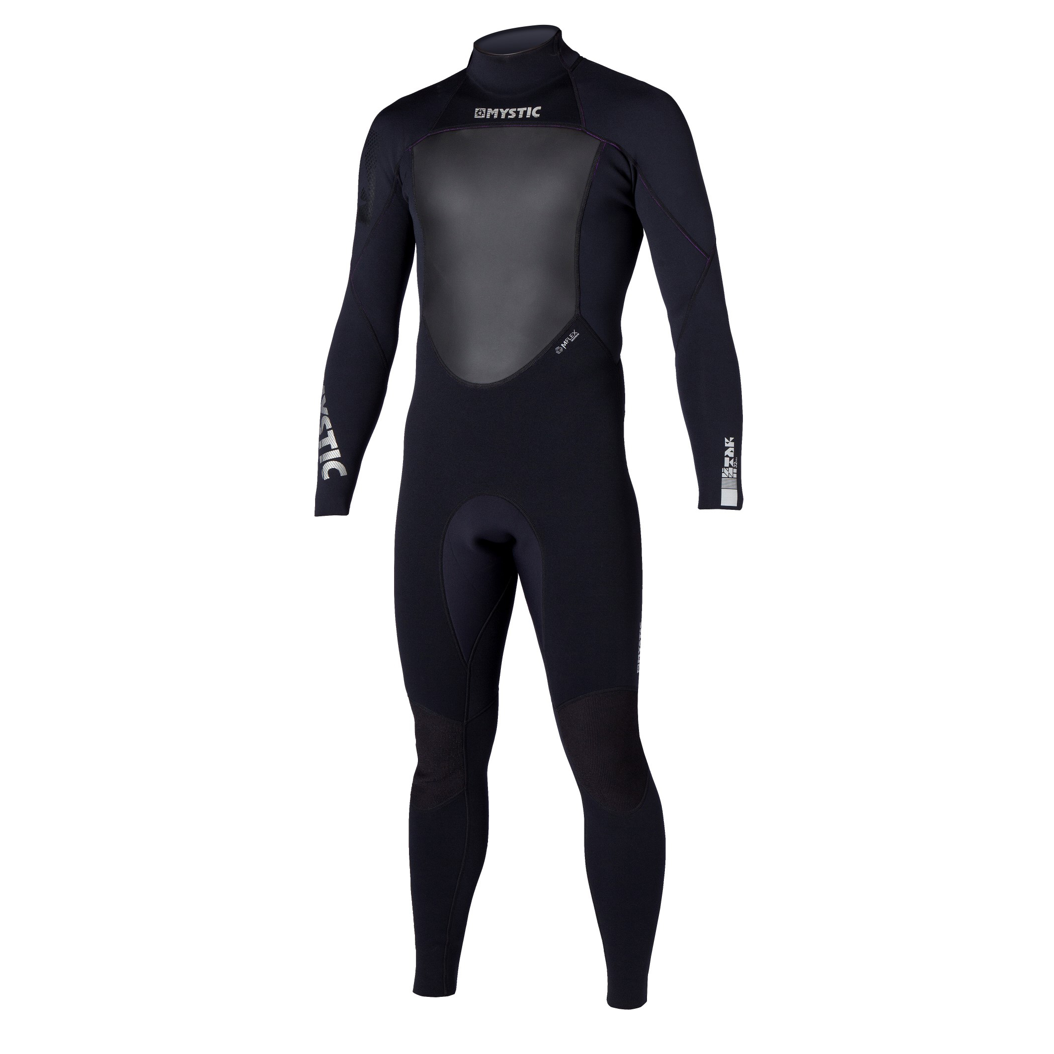 STAR 3/2 D/L FULLSUIT FLATLOCK - BLACK - MEDIUM MYSTIC 2016