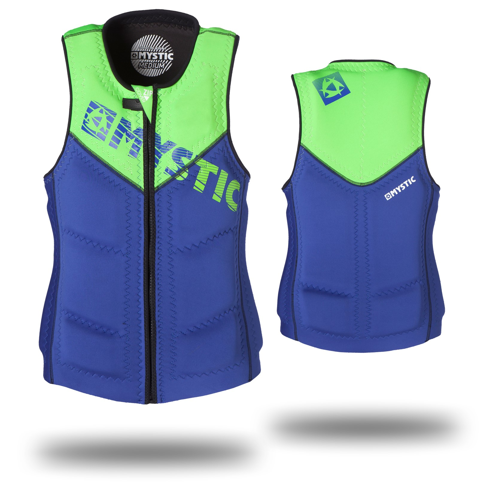 STAR WAKEBOARD VEST ZIP - NAVY MYSTIC 2016