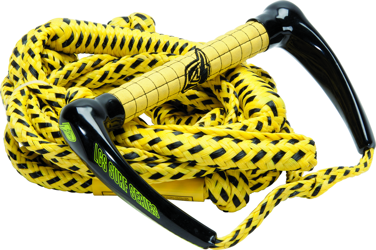 25' LGS SQUARE BUNGEE SURF PACKAGE - YELLOW PRO LINE 2017