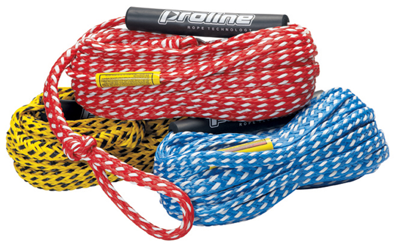 60' DELUXE 3/8''  2 RIDER TUBE ROPE W/FLOAT PRO LINE 2017