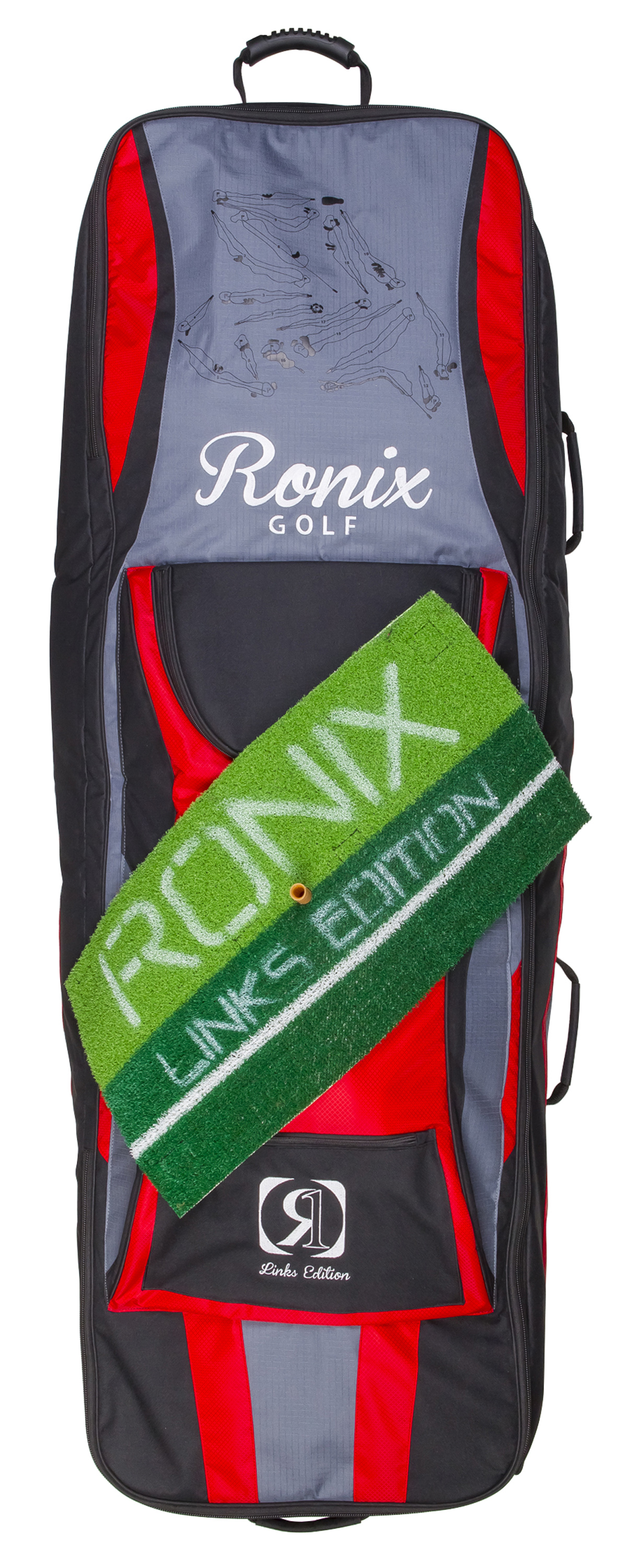 LINKS PADDED WHEELIE BAG RONIX 2016