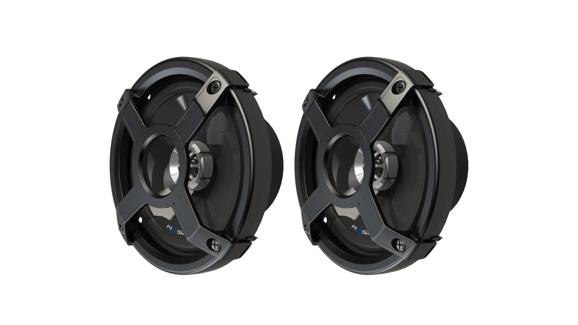 MARINE AUDIO CLASSIC IN-BOAT SPEAKERS - BLACK ROSWELL 2018