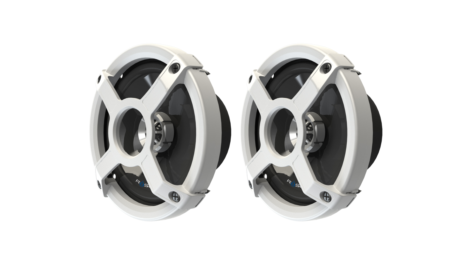 MARINE AUDIO CLASSIC IN-BOAT SPEAKERS - WHITE ROSWELL 2018