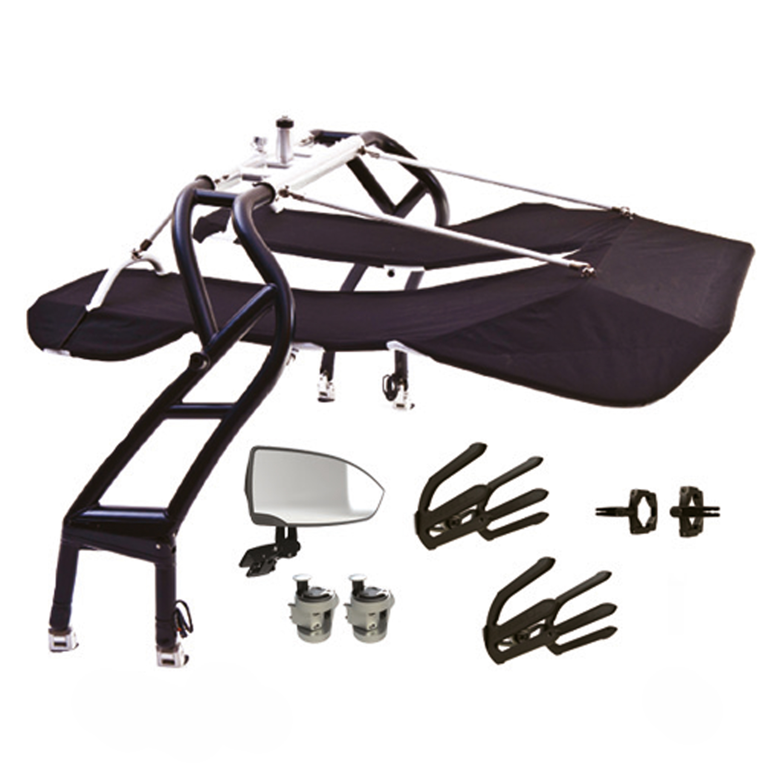 AVIATOR GOLD WAKEBOARD TOWER PACKAGE - WHITE ROSWELL 2018