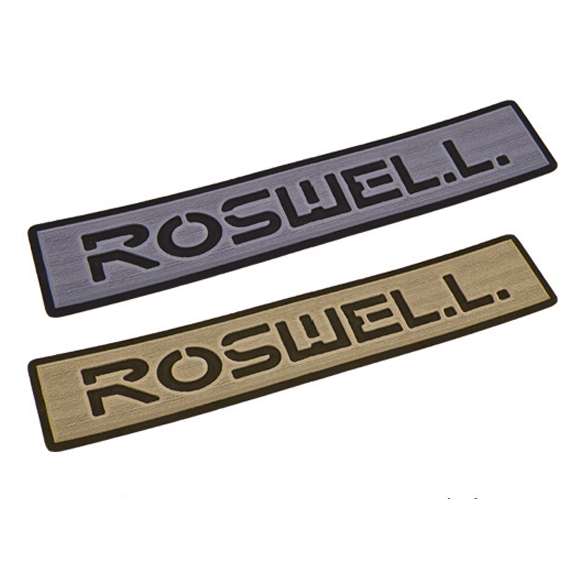LOGO STEP PAD - GREY ROSWELL 2018