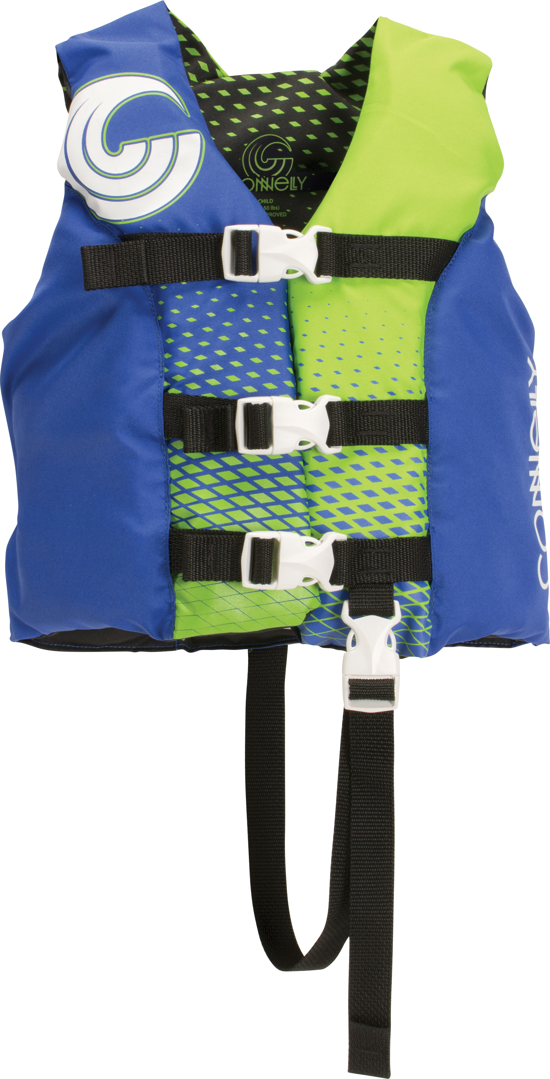 3-BELT BOY'S NYLON LIFE VEST - CHILD 13-23KG CONNELLY 2018