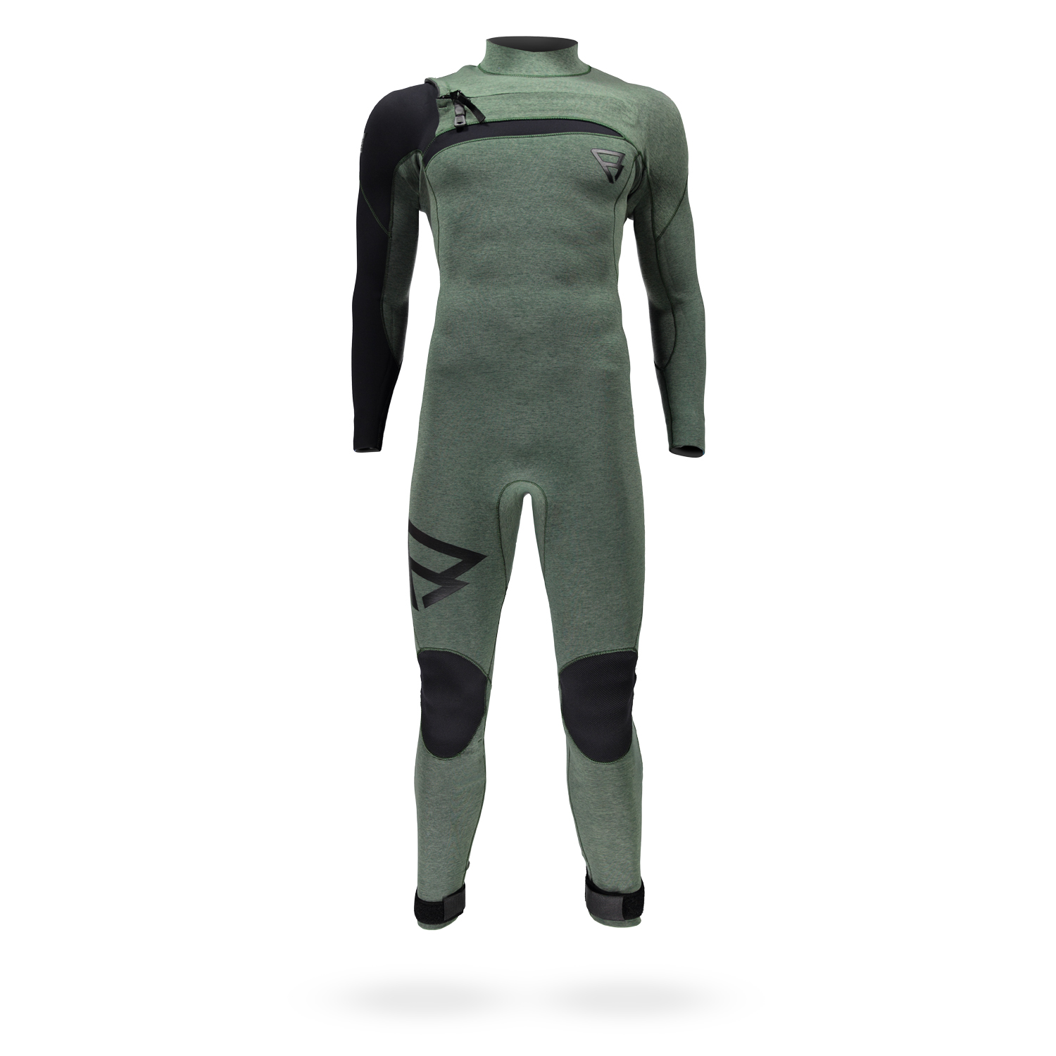 BRAVO 4/3 D/L YOURI ZOON MEN WETSUITS | GRANITE GREEN BRUNOTTI 2018