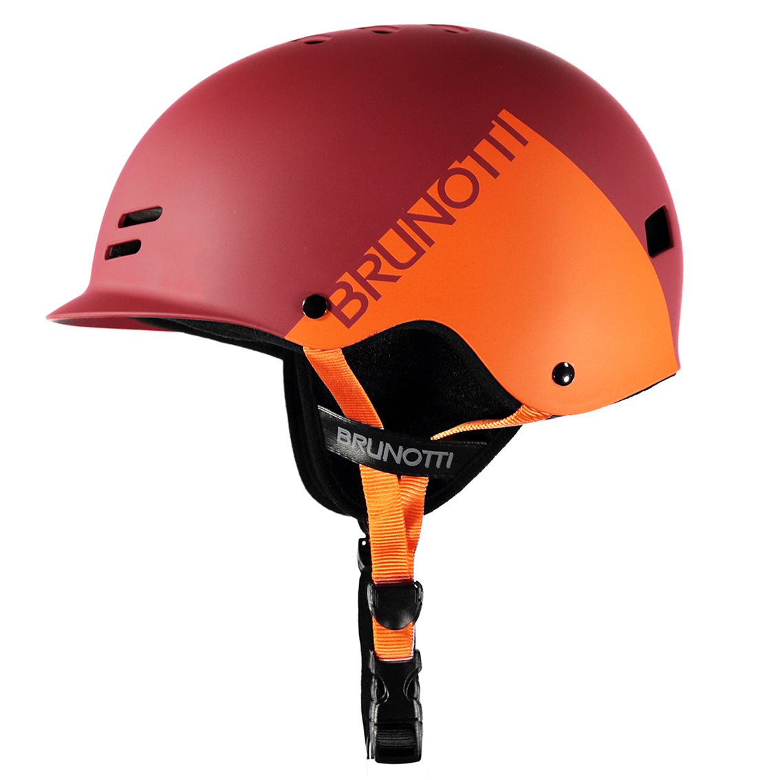 BRAVERY HELMET RED/ORANGE BRUNOTTI 2017