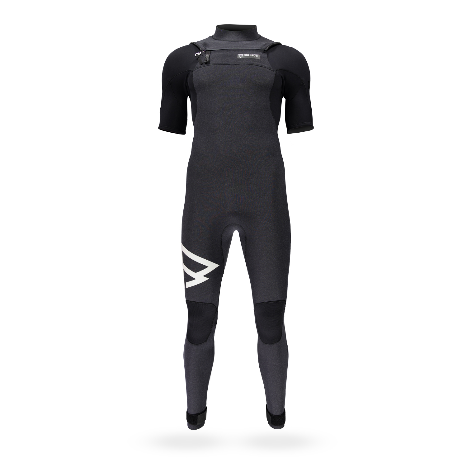 BRAVERY SHORTARM 3/2 D/L FZ MEN WETSUITS | BLACK BRUNOTTI 2018