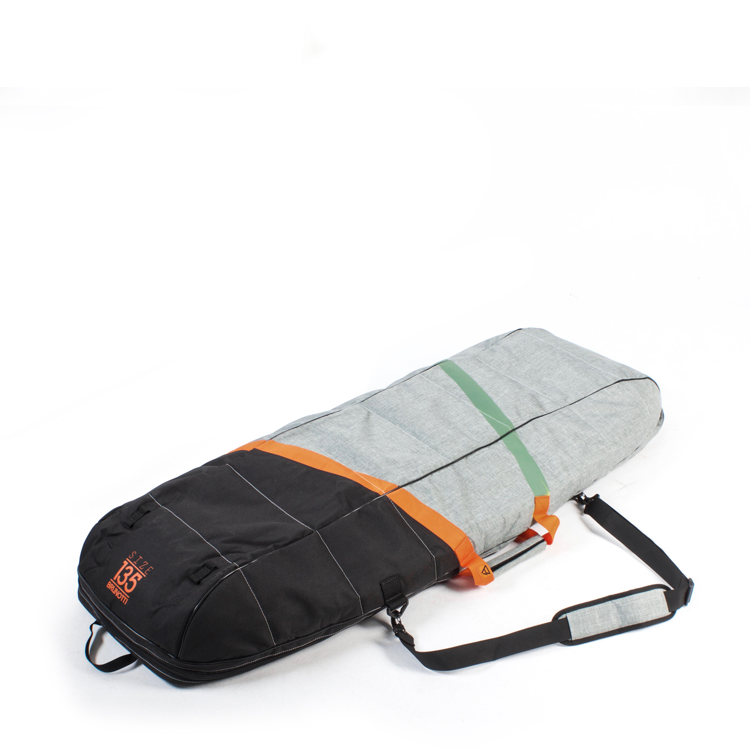 DEFENCE KITE/WAKE DOUBLE BOARDBAG UNI 145 | GRANITE GREEN BRUNOTTI 2018