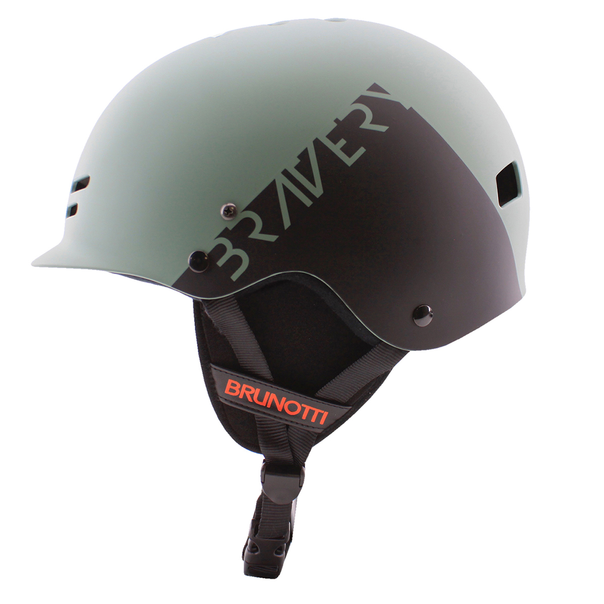 BRAVERY HELMET GRANITE GREEN BRUNOTTI 2017