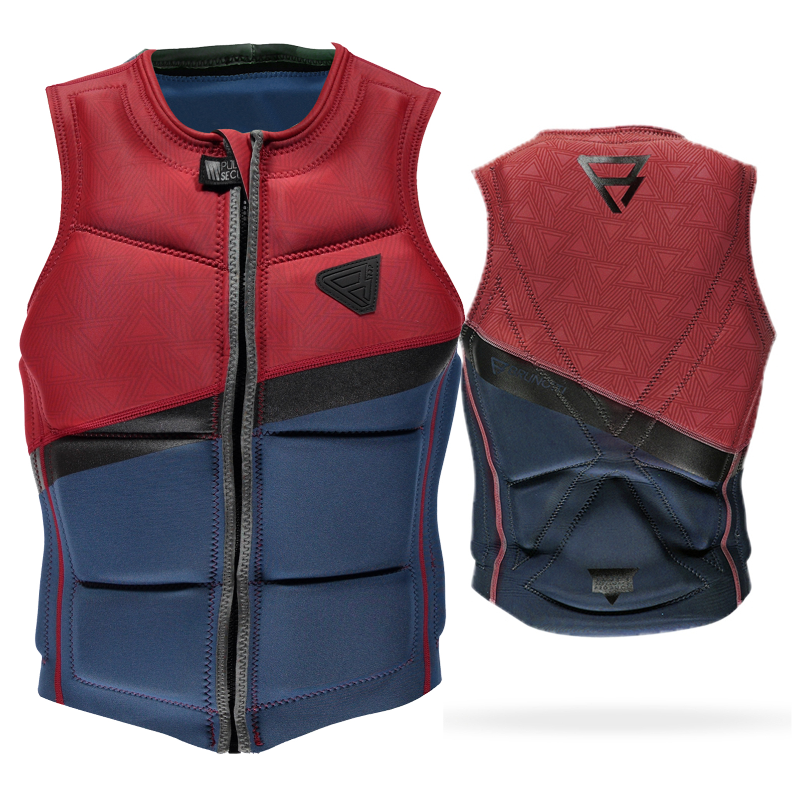 INDIAN WAKE VEST FZ MEN VEST | BLUE BRUNOTTI 2017