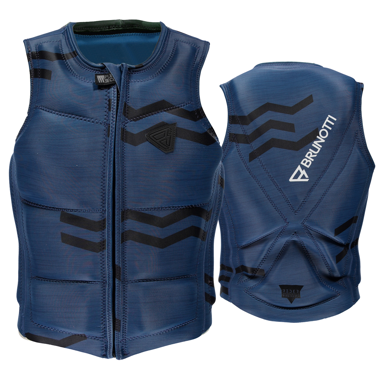 ZIGZAG WAKEVEST FZ MEN TECHNICAL VEST | BLUE BRUNOTTI 2017