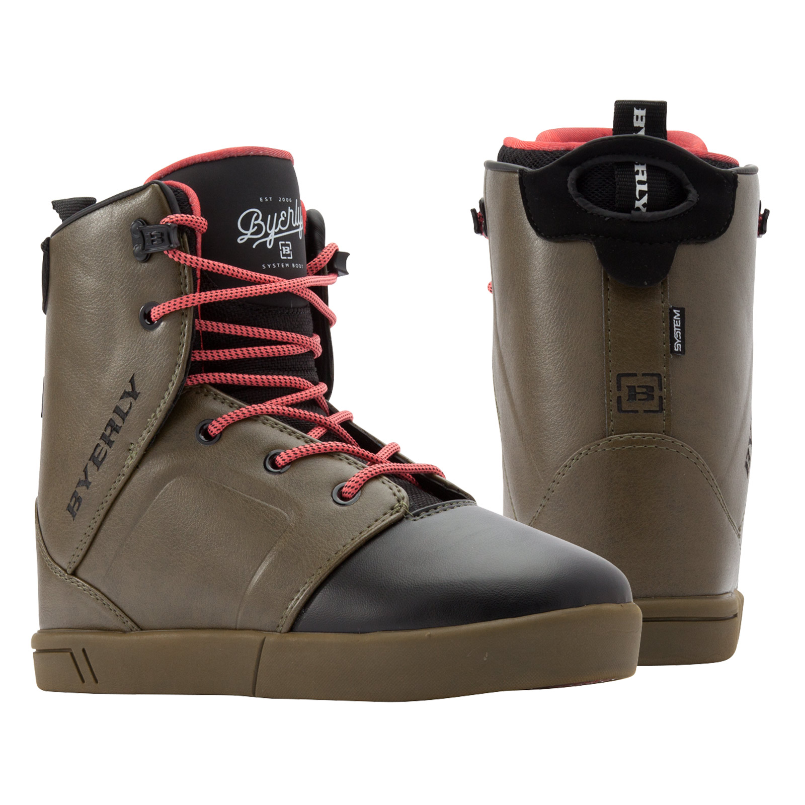 HAZE SYSTEM BOOT PAIR BYERLY 2017