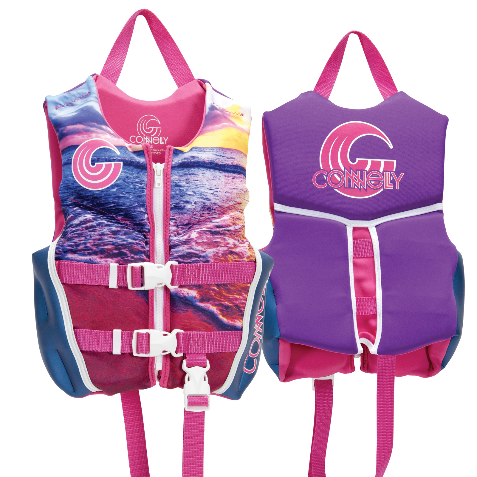 GIRL'S CLASSIC NEO LIFE VEST - CHILD 13-23KG CONNELLY 2018