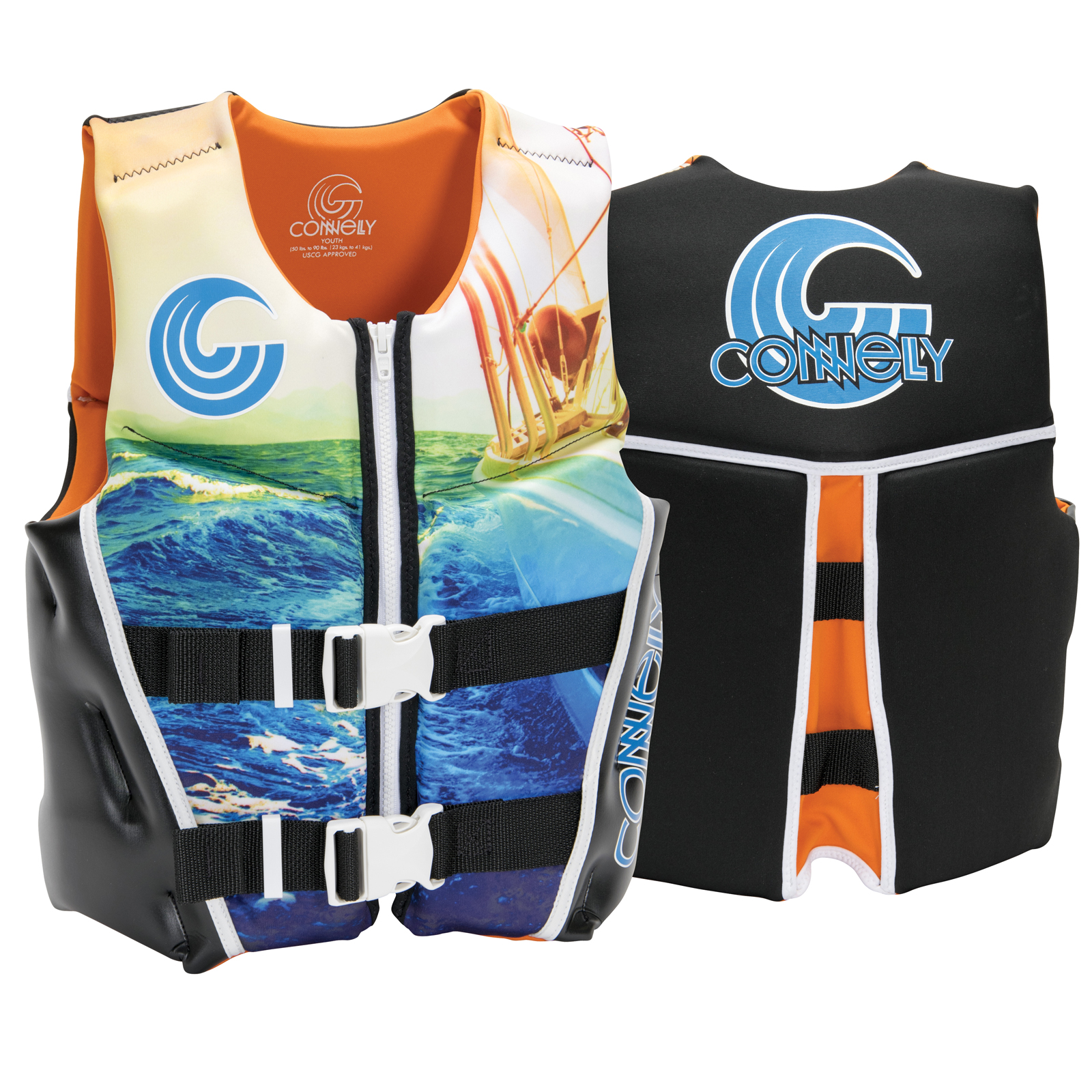 BOY'S CLASSIC NEO LIFE VEST - YOUTH 22-40KG CONNELLY 2018