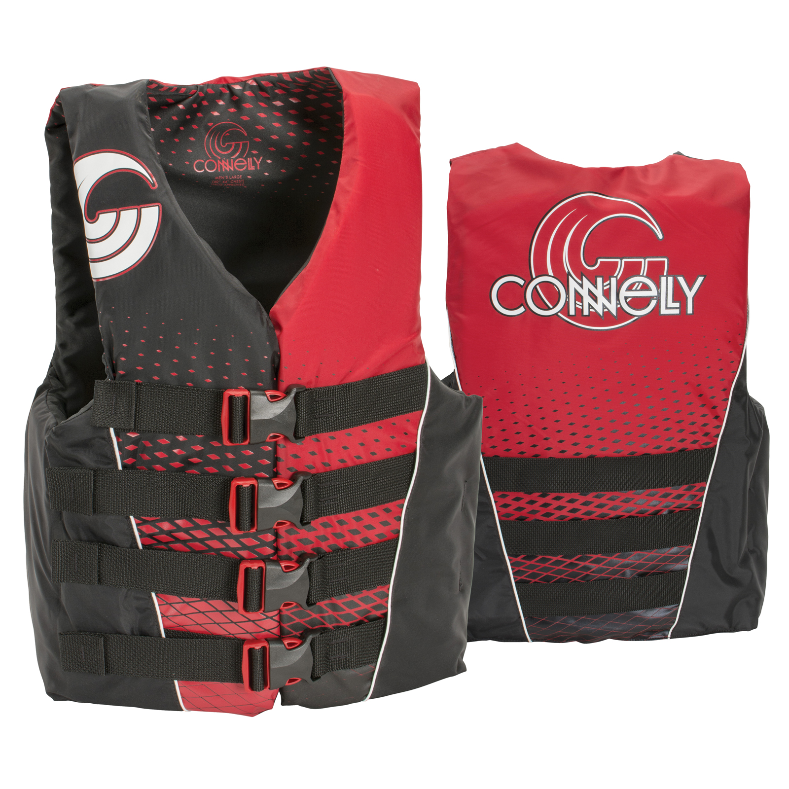 4 BUCKLE NYLON VEST CONNELLY 2017