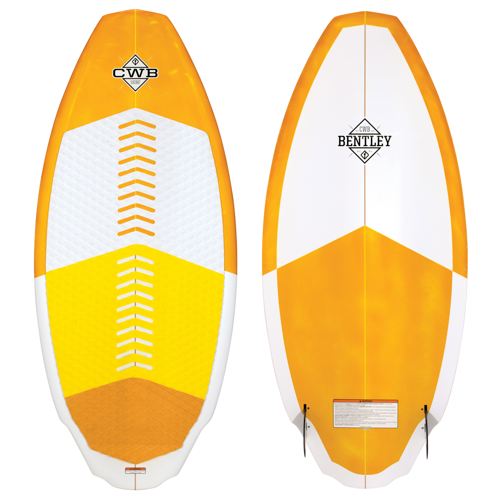 BENTLEY 4'4'' WAKESURFER CWB 2017