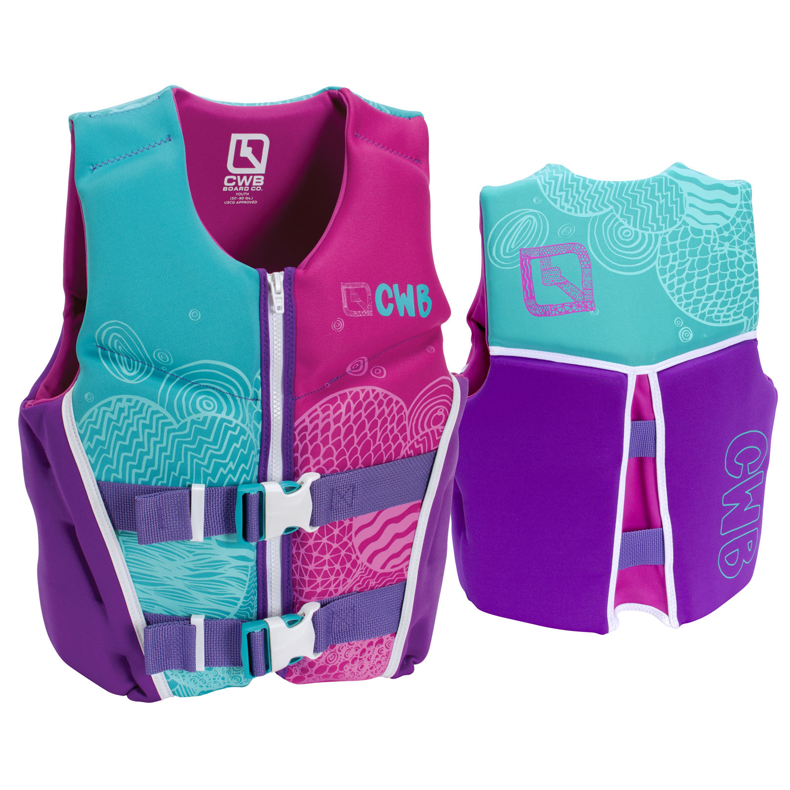 GIRL'S YOUTH NEO VEST CWB 2017