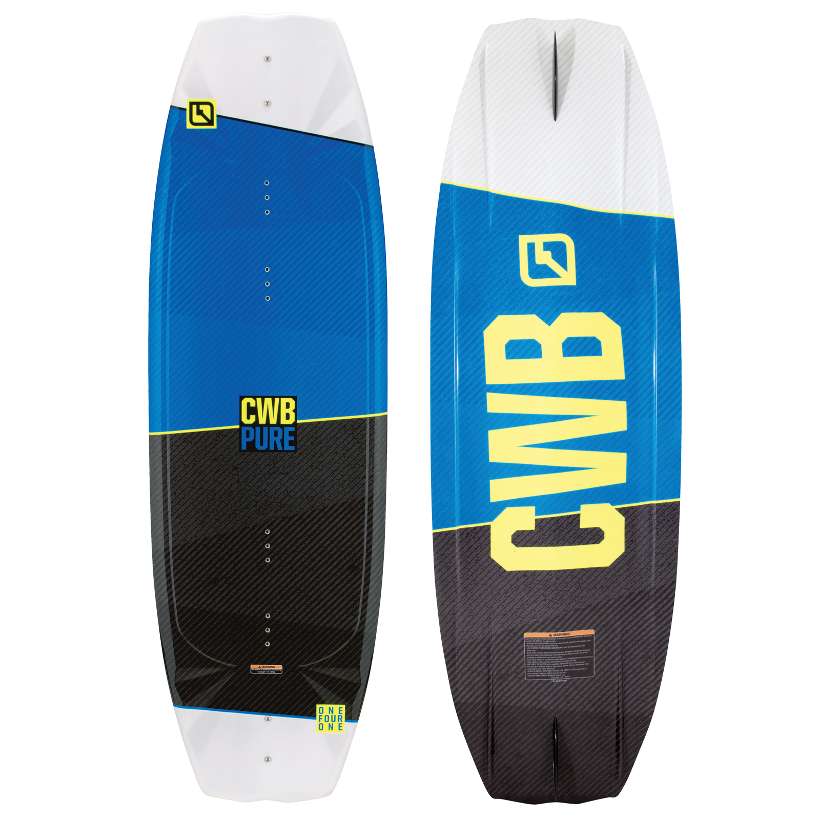 PLACA WAKEBOARD PURE 141 WAKEBOARD CWB 2017