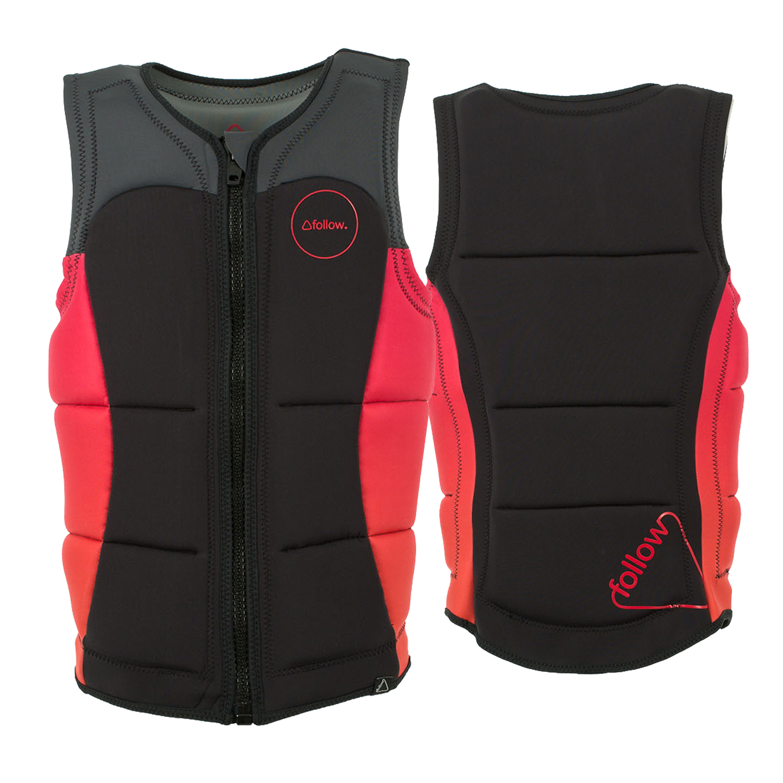 ATLANTIS PRO IMPACT VEST - SALMON/CHARCOAL FOLLOW 2017