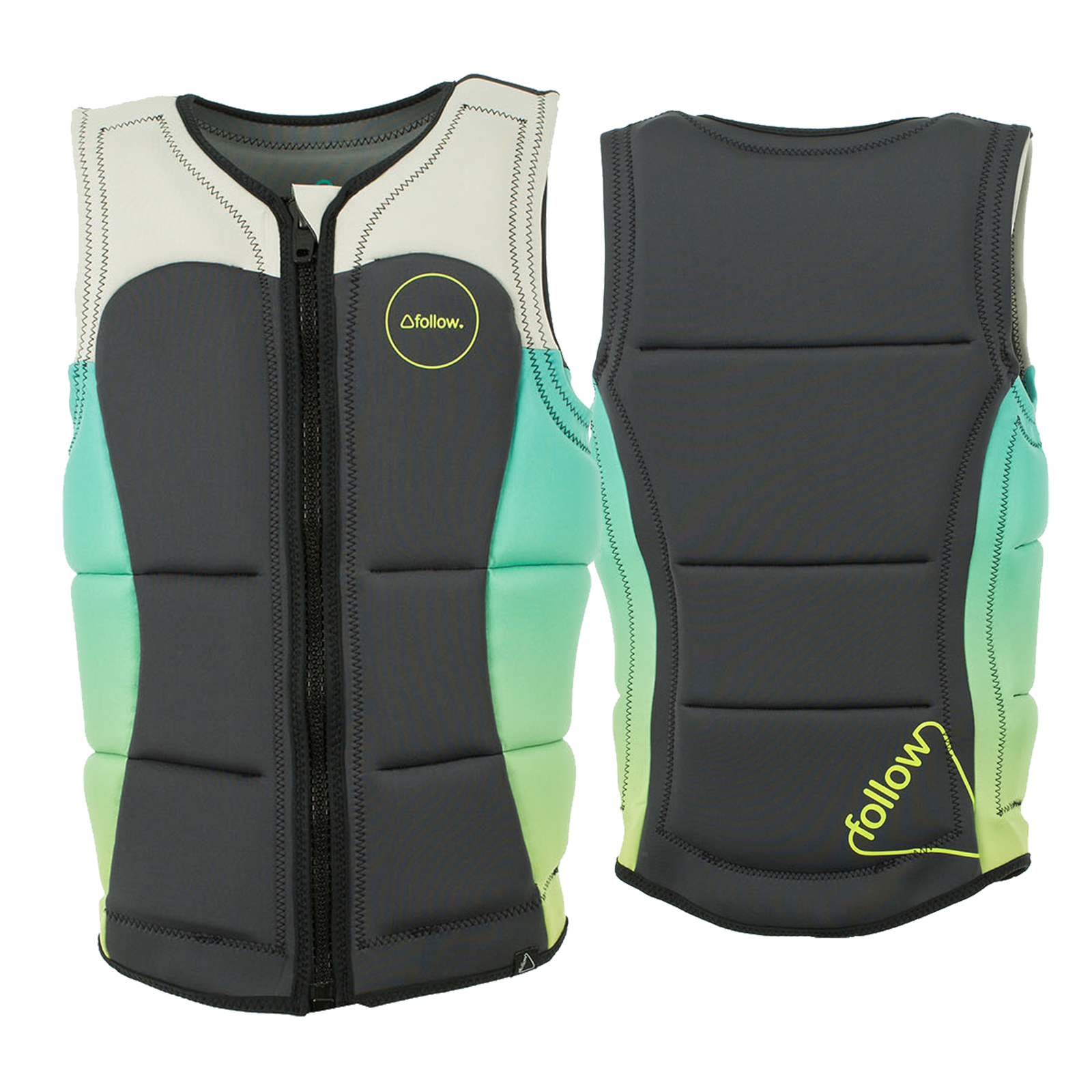 ATLANTIS PRO IMPACT VEST - TEAL/CHARCOAL FOLLOW 2017