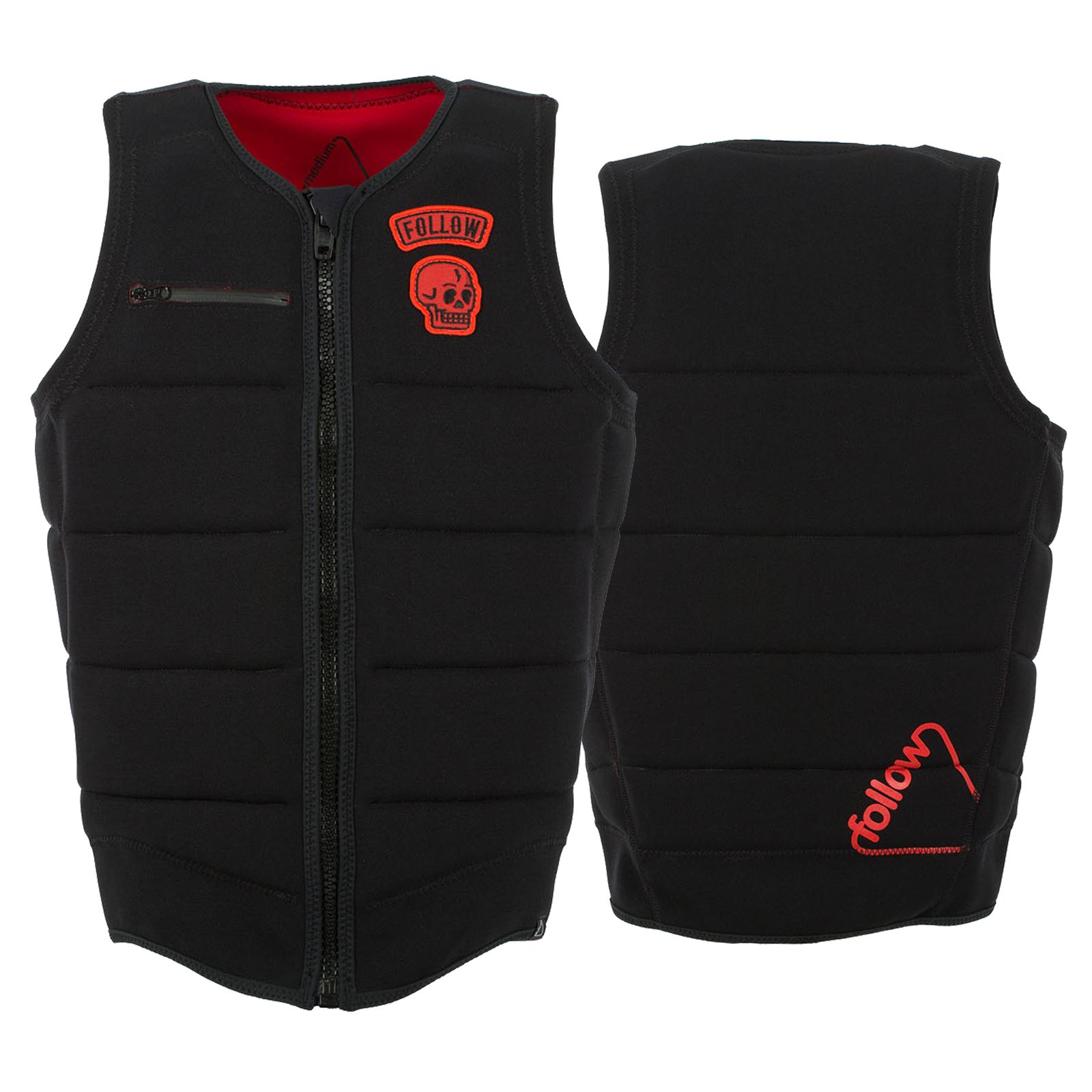 B P PRO IMPACT VEST BLACK FOLLOW 2017