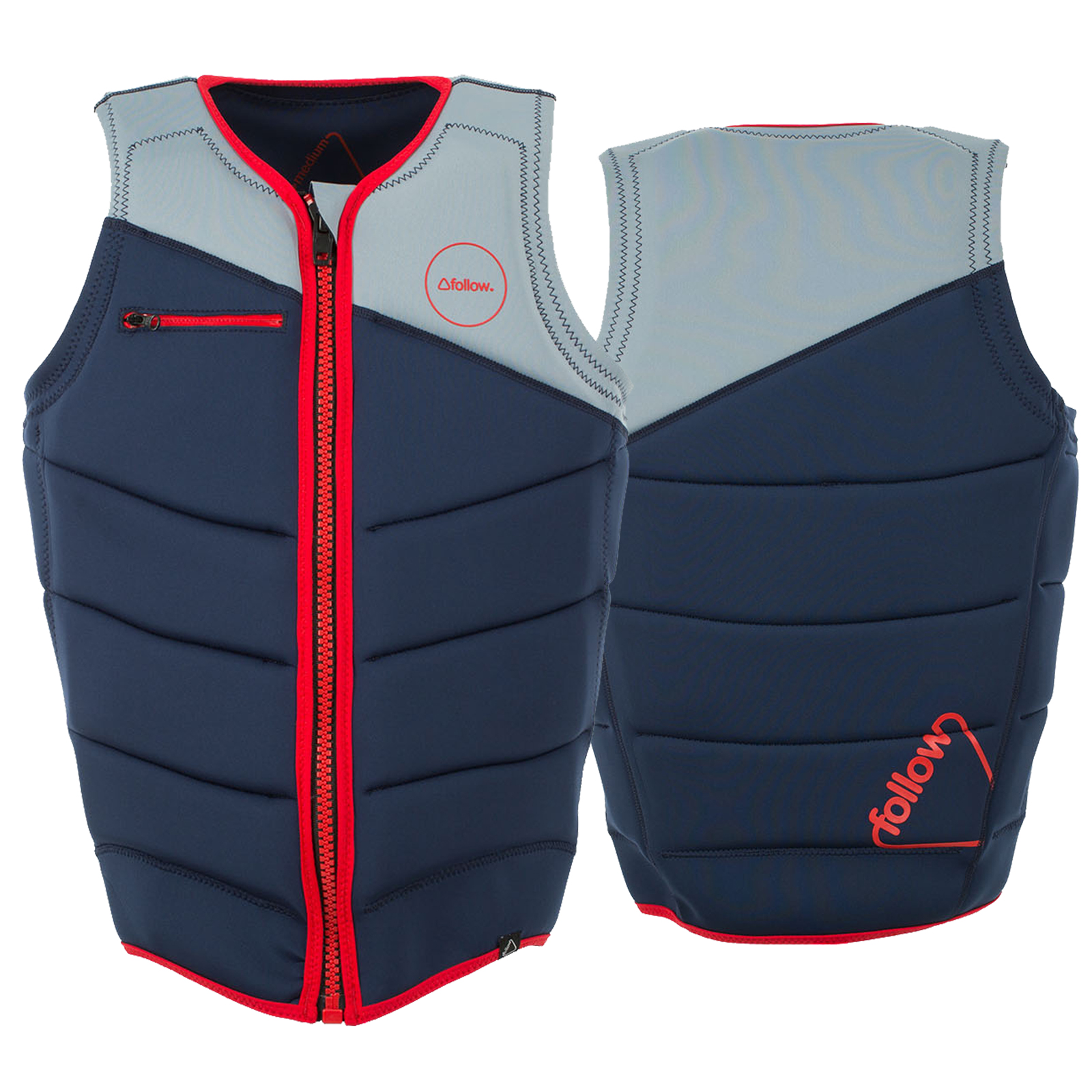 CINCH PRO IMPACT VEST NAVY/GREY FOLLOW 2017