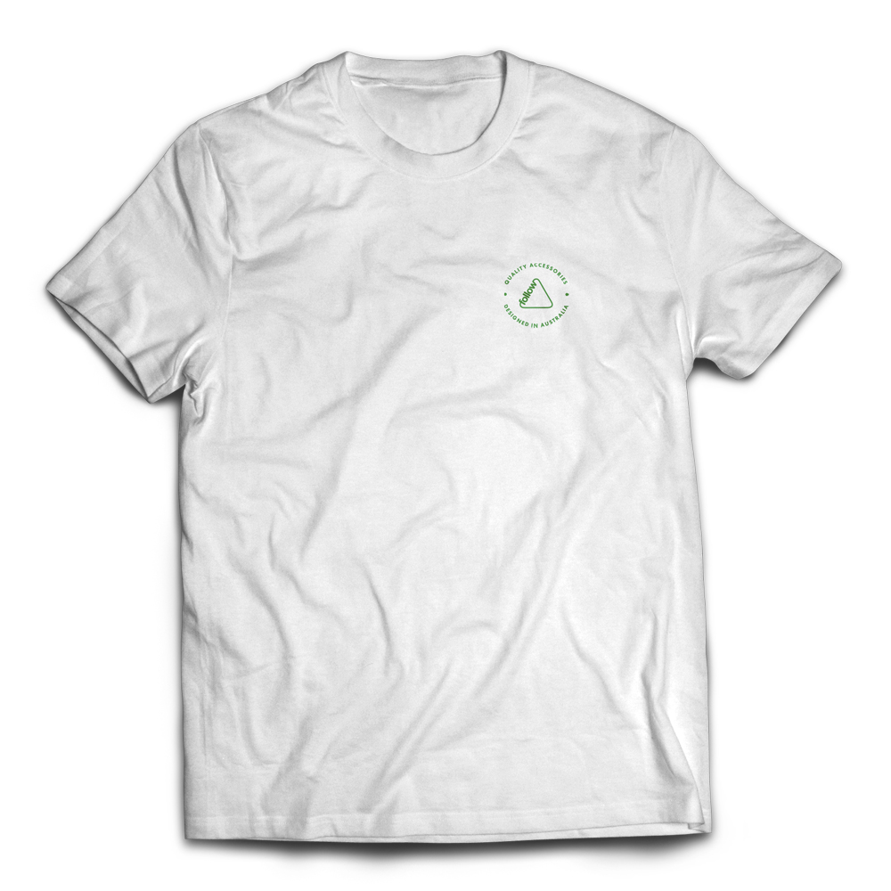 CORP TEE - WHITE FOLLOW 2018