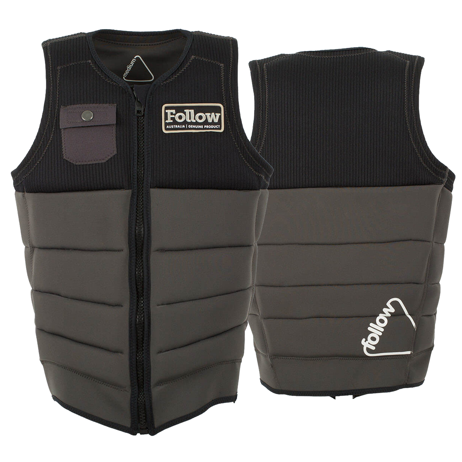 MITCH PRO IMPACT VEST CHARCOAL FOLLOW 2017