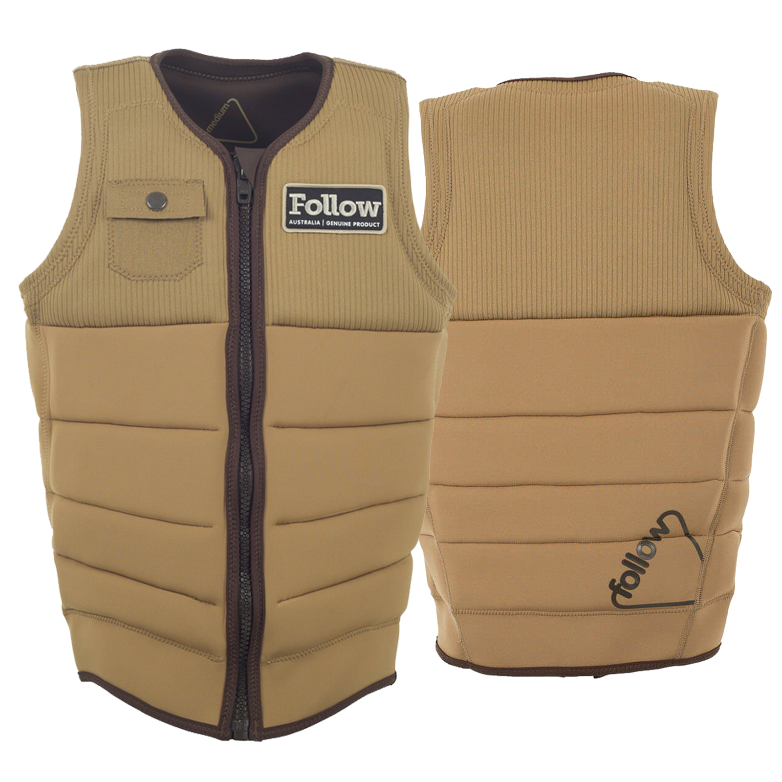 MITCH PRO IMPACT VEST TAN FOLLOW 2017