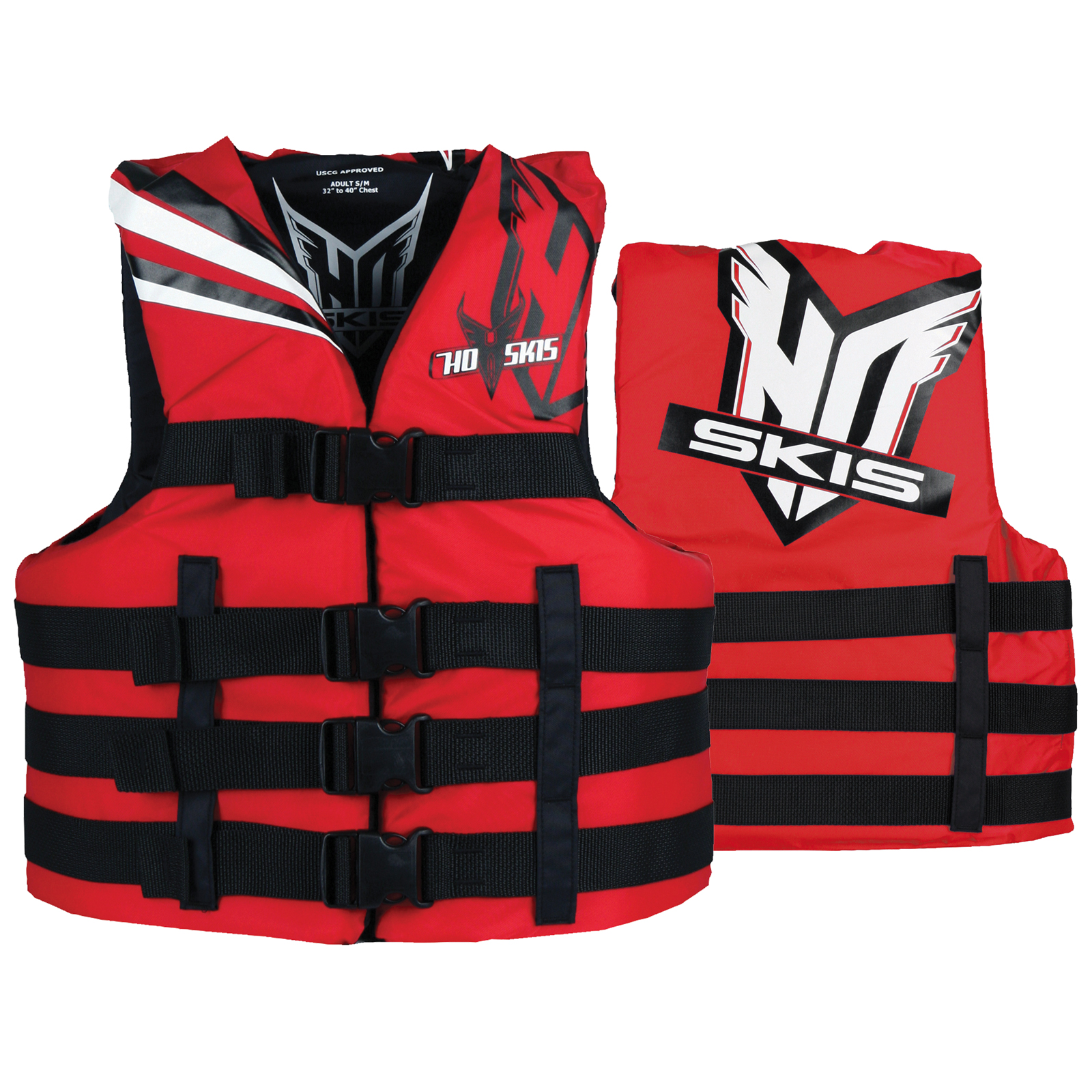 UNIVERSAL LIFE VEST - RED HO SPORTS 2018