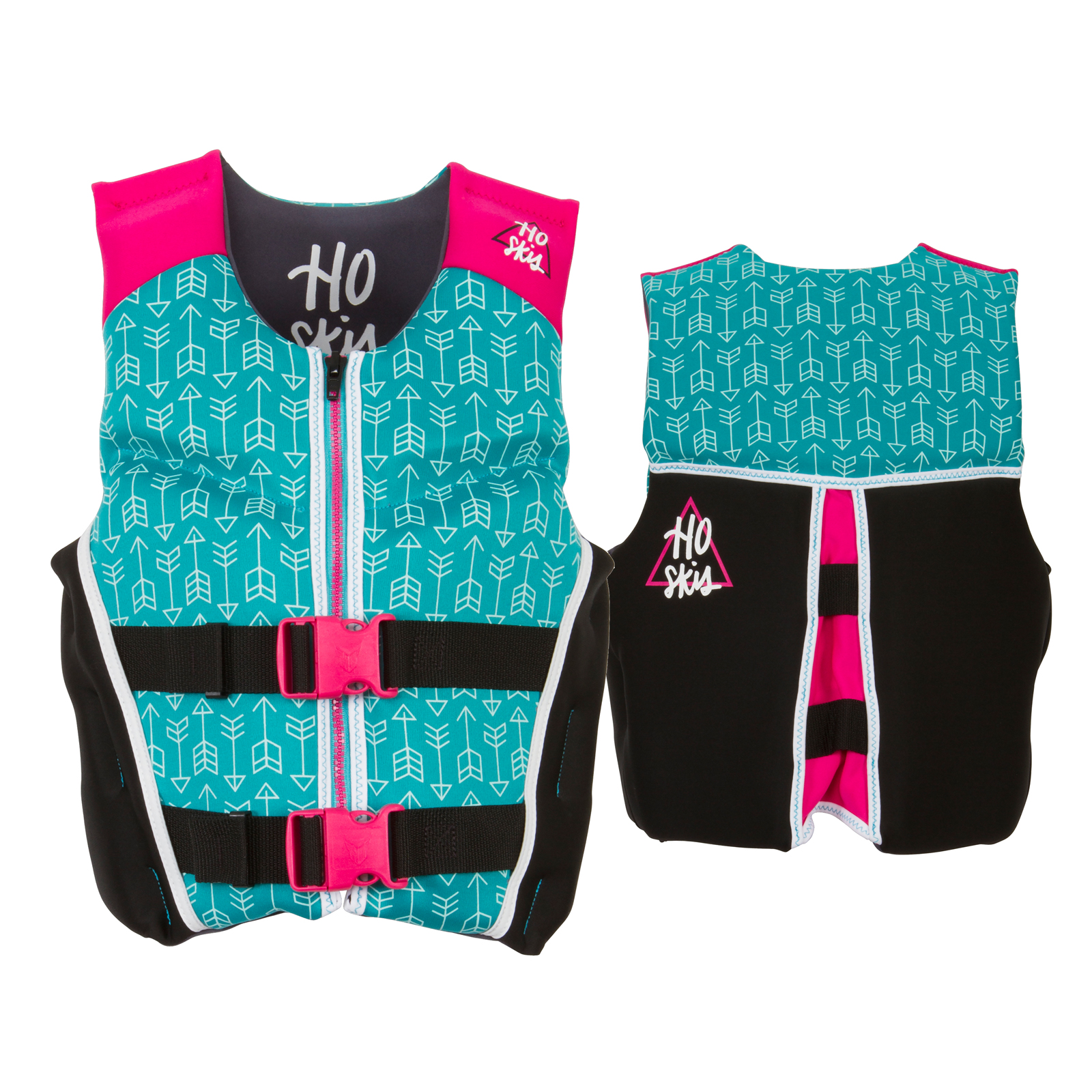 PURSUIT GIRL'S NEO LIFE VEST - 22-40KG HO SPORTS 2018
