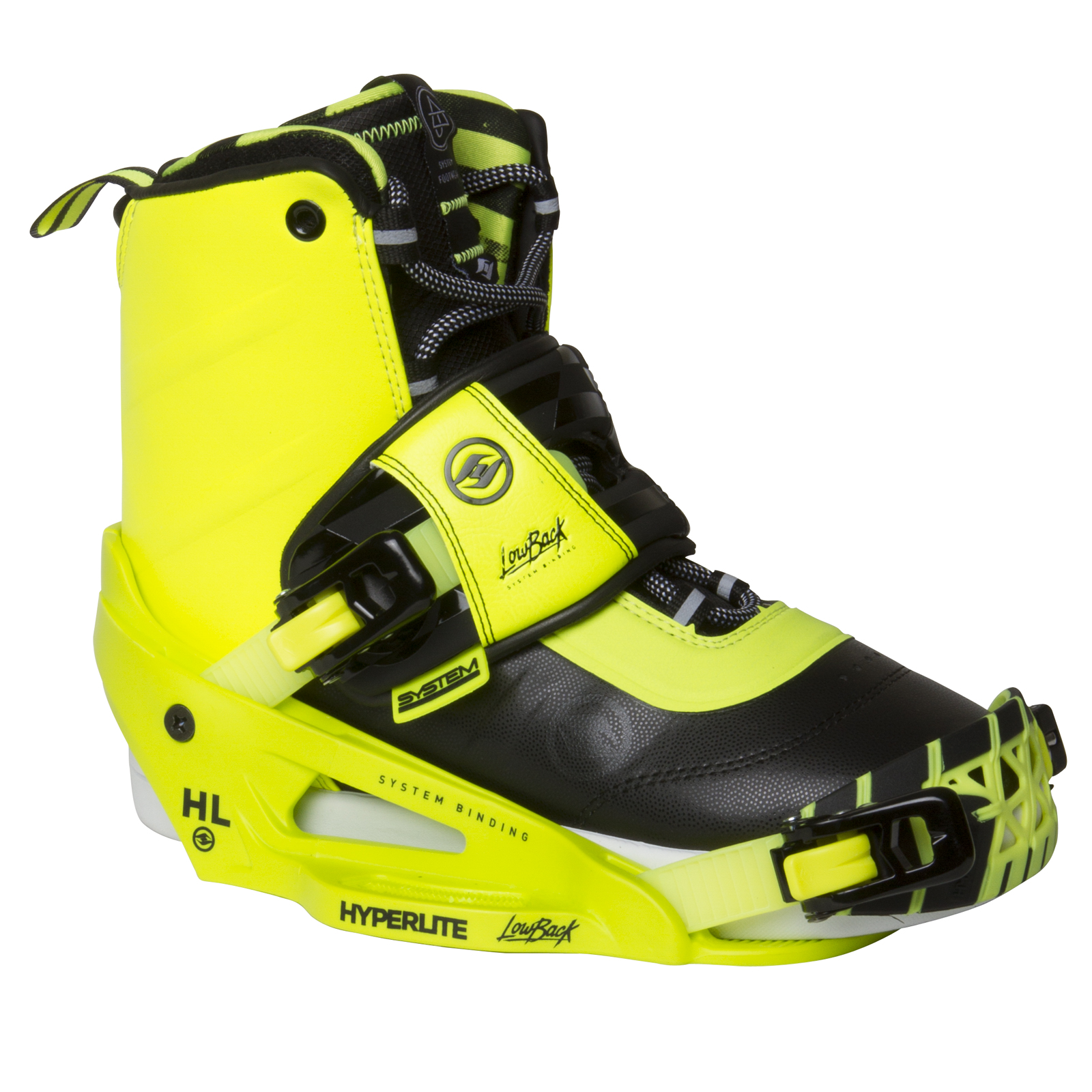 AJ SYSTEM BOOT - YELLOW W/SYSTEM LOWBACK YELLOW HYPERLITE 2017