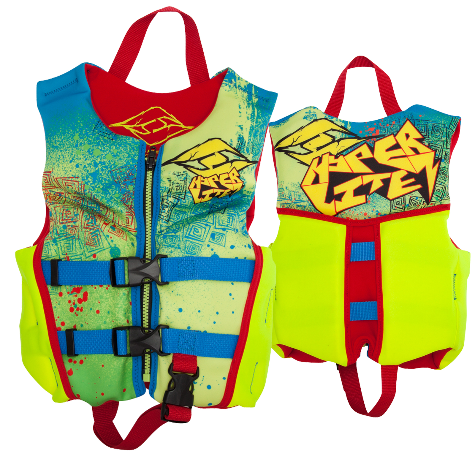 BOYZ CHILD INDY NEO VEST HYPERLITE 2017