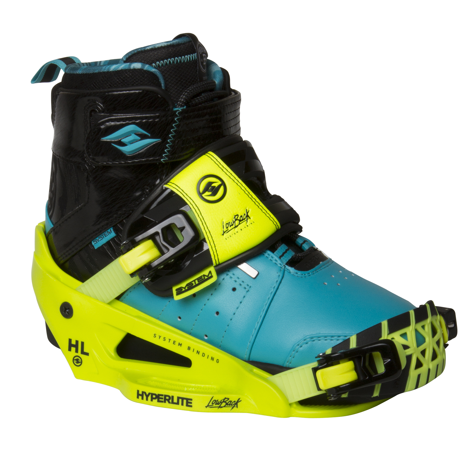 BRIGHTON SYSTEM BOOT W/SYSTEM LOWBACK YELLOW HYPERLITE 2017