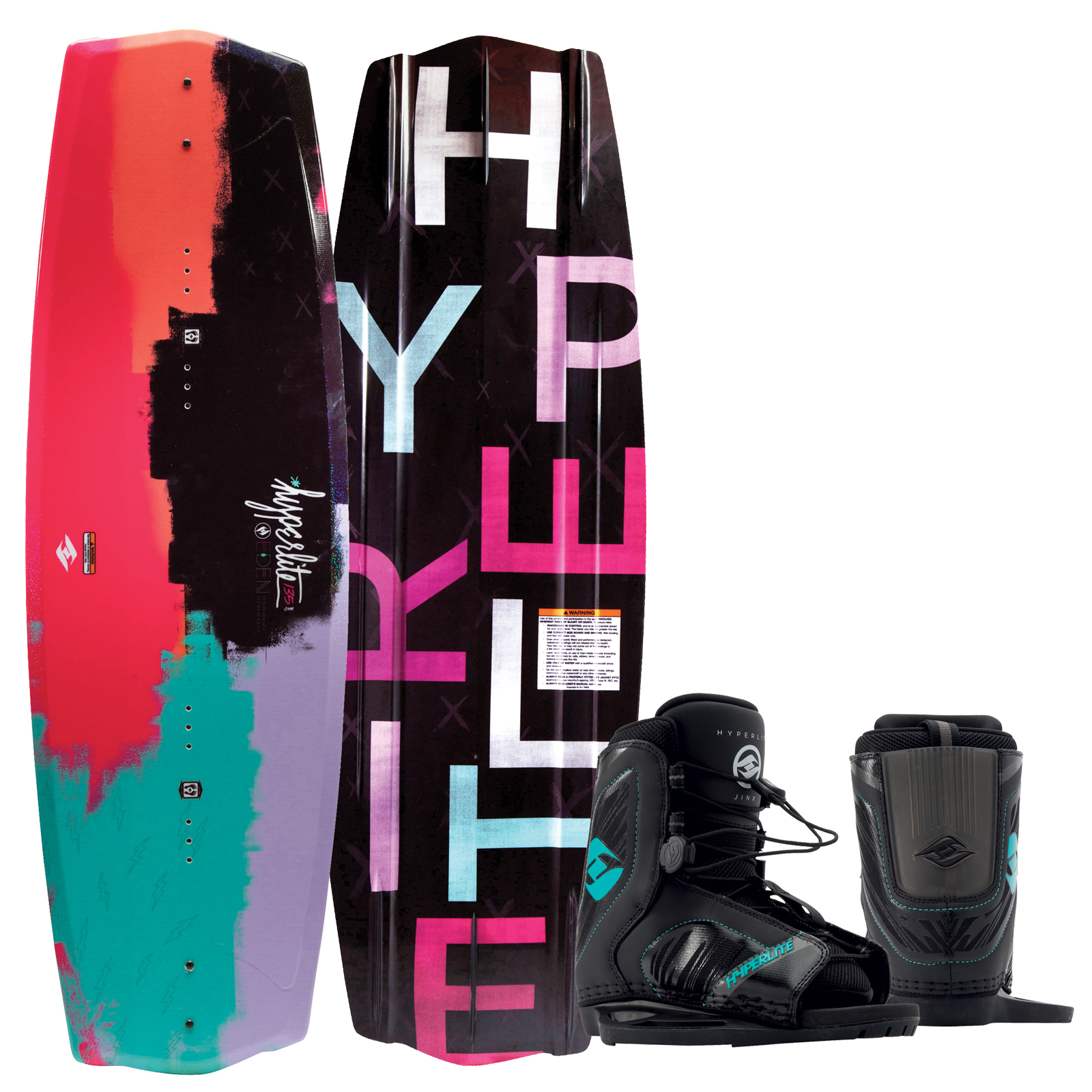 EDEN 2.0 125 JR. W/JINX GIRLS EU 29-32.5/US K12/Y2 PACKAGE HYPERLITE 2017